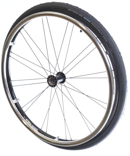 Laufrad Light Black Komplettsatz 24x1