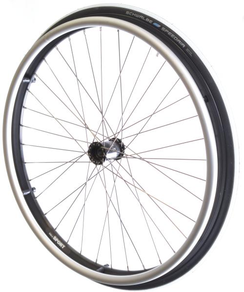 Sport-Laufrad all black Komplettsatz 24x1
