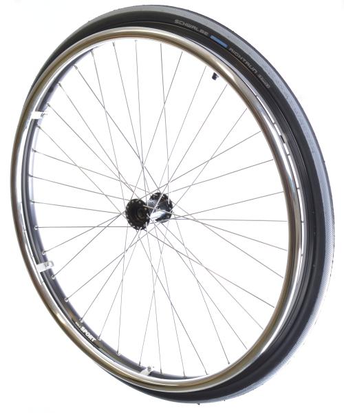 Sport-Laufrad Edelstahl Komplettsatz 26x1