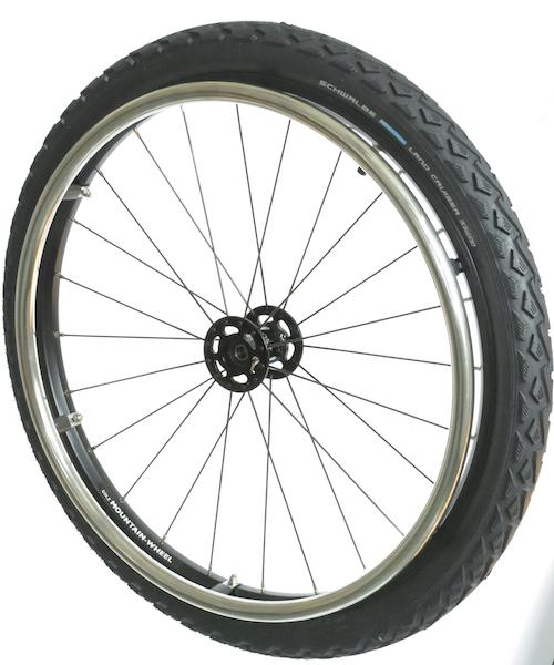 Mountain Wheel Komplettsatz Hochflanschnabe 24x1,9