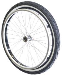 Mountain-Wheel Komplettsatz Weißwand 24x1,9