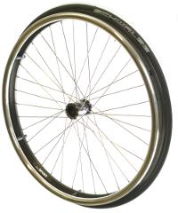 Sport Laufrad Edelstahl Komplettsatz 24x1
